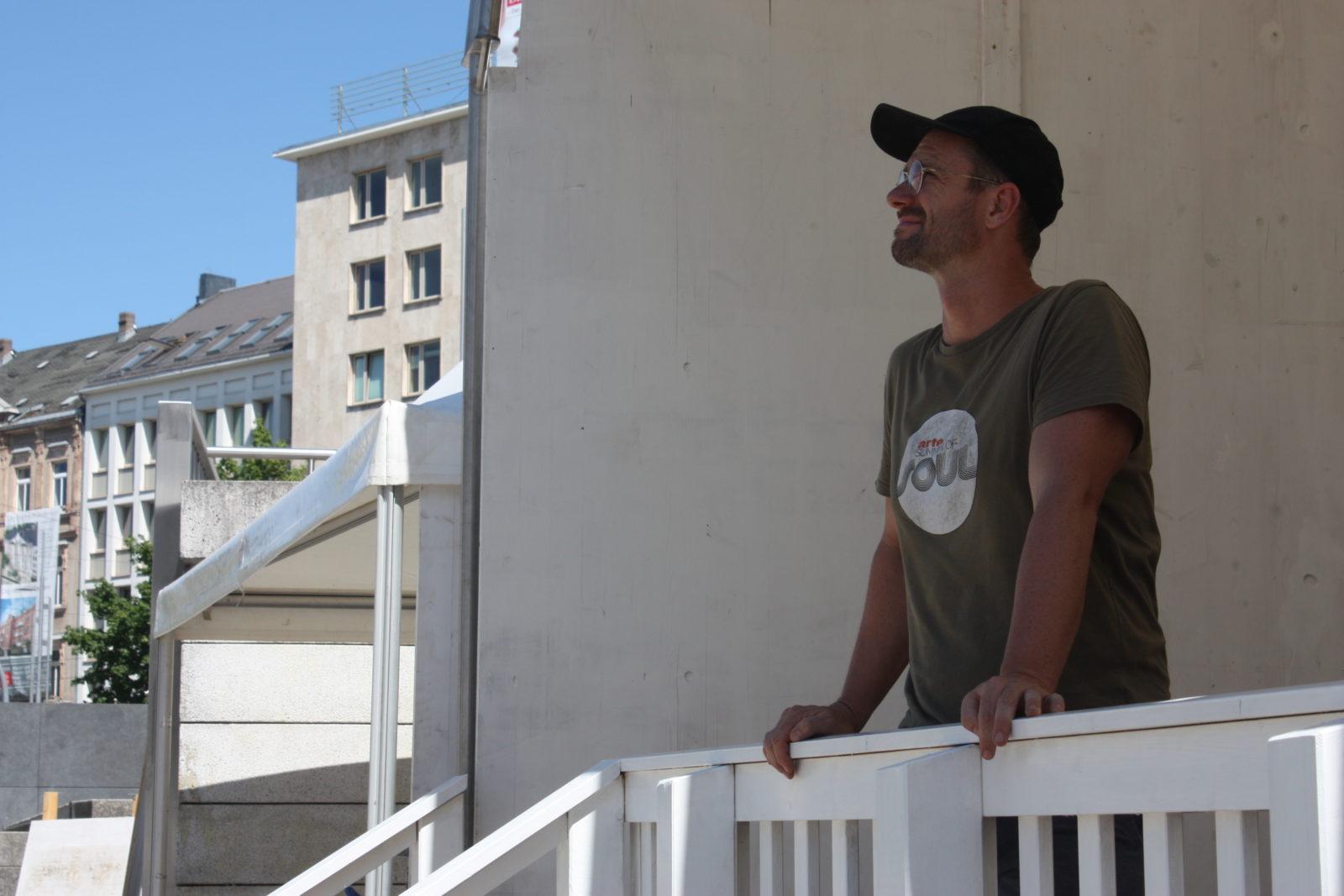 Markus Richter in der Filmnächte-Lounge